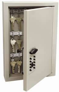 Kidde-AccessPoint-001795-Combination-TouchPoint-Entry-Key-Locker-Clay-30-Key