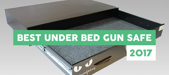 best under bed gun safe reviews