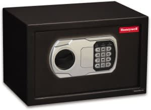Honeywell-Model-5101DOJ-Approved-Small-Steel-Security-Safe 0.36-Cubic-Feet